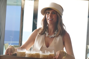 """THE LAST MAN ON EARTH:  Guest star Kristen Wiig in the """"M.U.B.A.R."""" season premiere episode of THE LAST MAN ON EARTH airing Sunday, Oct. 1 (9:30-10:00 PM ET/PT) on FOX.  ©2017 Fox Broadcasting Co.  Cr:  Kevin Estrada/FOX"""