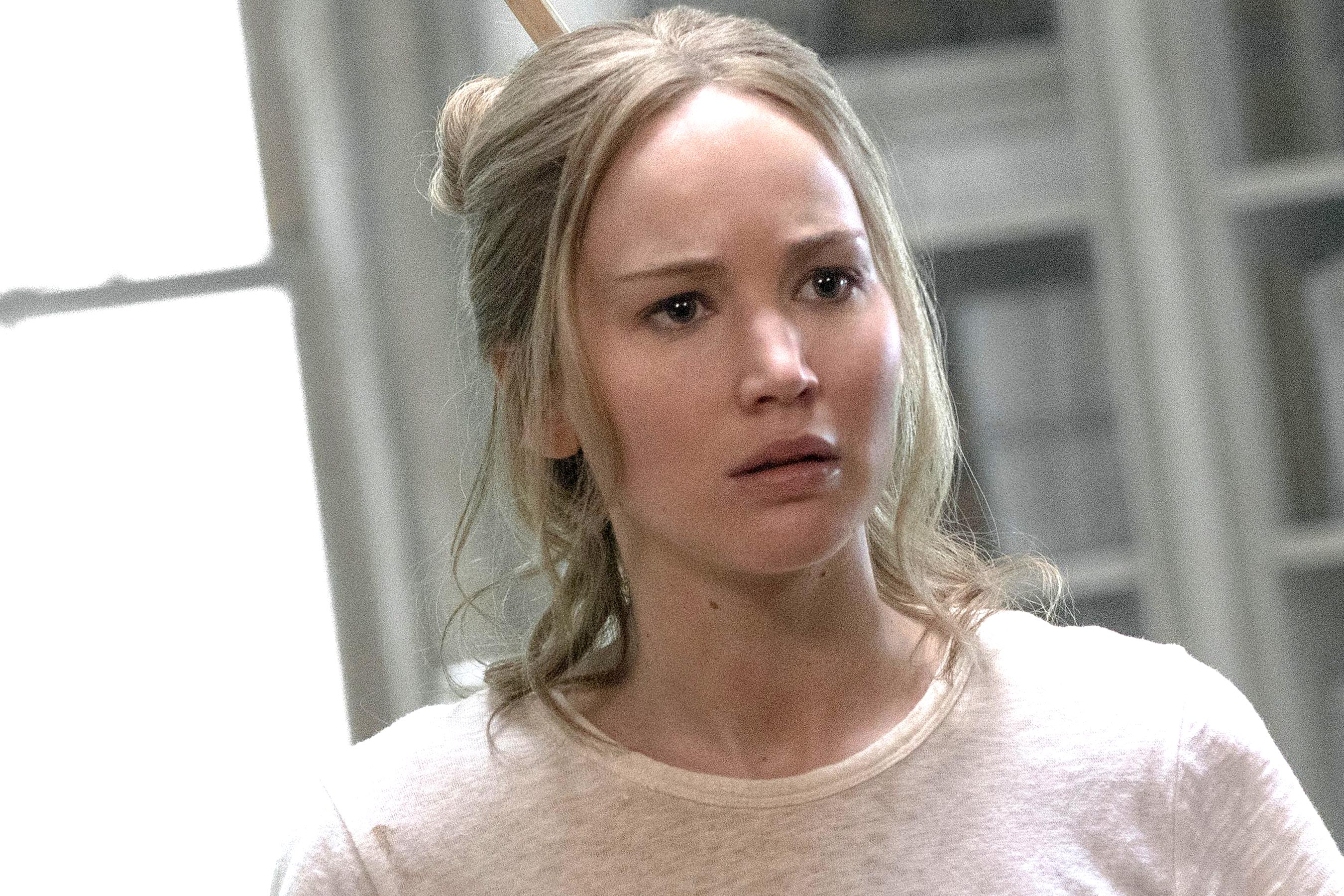 'It' scares up big second weekend as Jennifer Lawrence's 'mother!' sinks