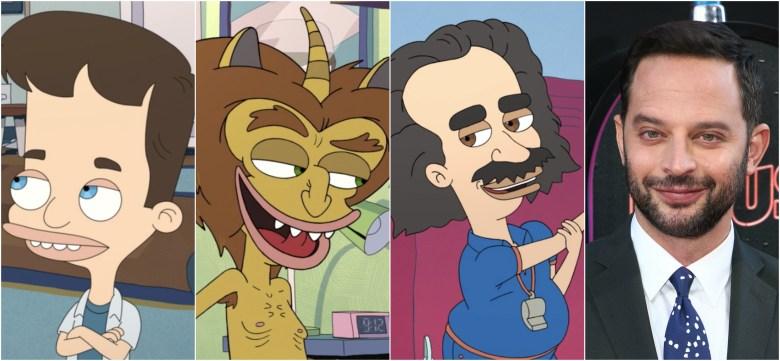 Big Mouth Season 1 Voice Cast: Nick Kroll, Jenny Slate
