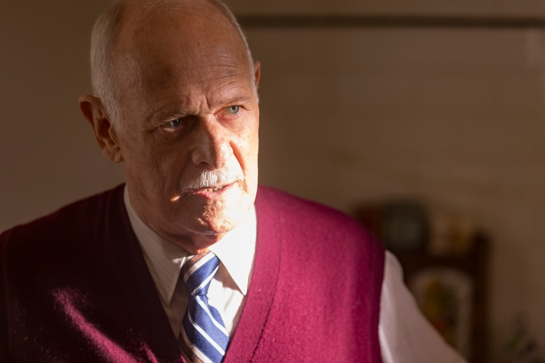 "THIS IS US -- ""The Big Day"" Episode 112 -- Pictured: Gerald McRaney as Dr. K -- (Photo by: Ron Batzdorff/NBC)"