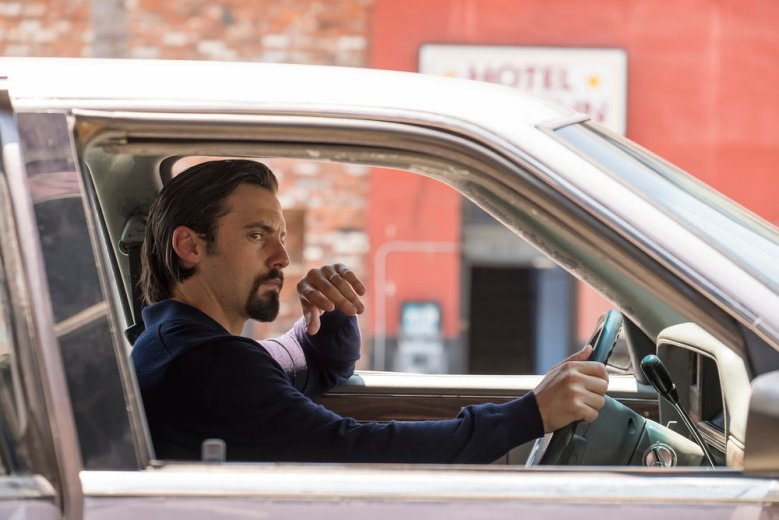 "THIS IS US -- ""A Father's Advice"" Episode 201 --  Pictured: Milo Ventimiglia as Jack  -- (Photo by: Ron Batzdorff/NBC)"