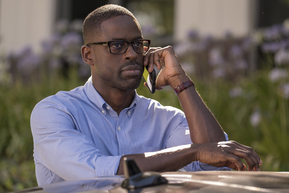 "THIS IS US -- ""A Father's Advice"" Episode 201 -- Pictured: Sterling K. Brown as Randall -- (Photo by: Ron Batzdorff/NBC)"