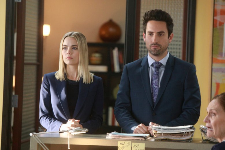 "Rebecca Rittenhouse and Ed Weeks, ""The Mindy Project"""