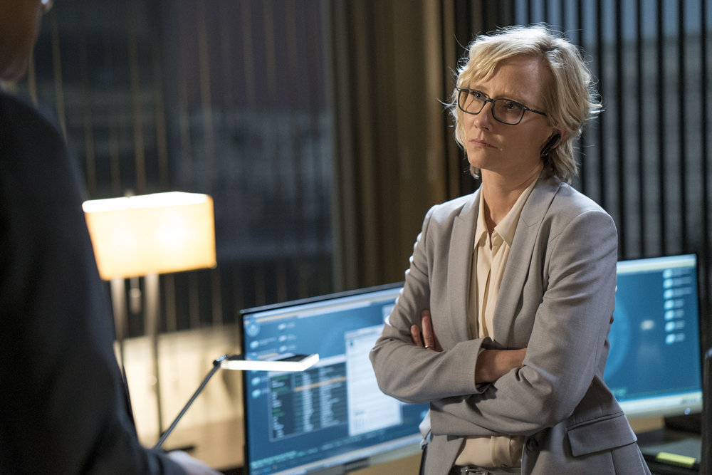 """THE BRAVE -- """"Moscow Rules"""" Episode 103 -- Pictured: Anne Heche as Patricia Campbell -- (Photo by: Lewis Jacobs/NBC)"""