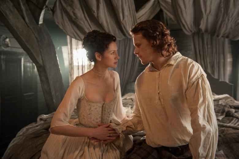 "Caitriona Balfe and Sam Heughan, ""Outlander"""