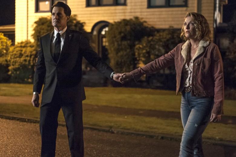 """Kyle MacLachlan and Sheryl Lee, """"Twin Peaks"""""""