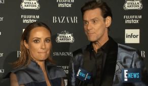 Jim Carrey Fashion Week interview