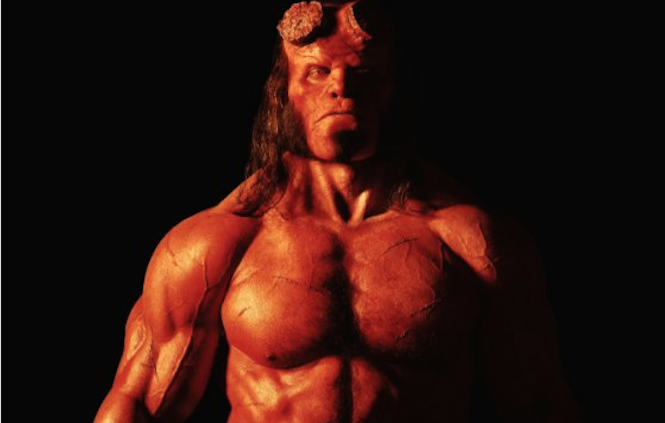 'Hellboy' Reboot First Look: David Harbour Looks Exactly Like Ron Perlman and It's All Too Freaky