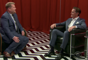 Kyle MacLachlan James Corden The Late Late Show