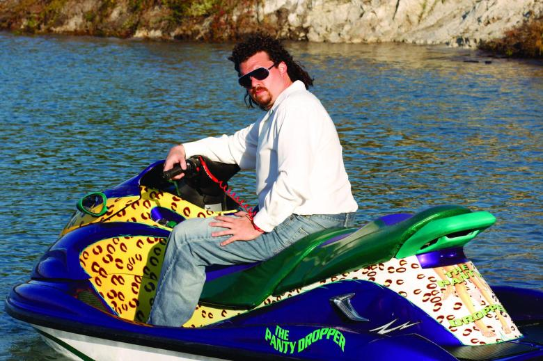 No Merchandising. Editorial Use Only. No Book Cover Usage Mandatory Credit: Photo by Snap Stills/REX/Shutterstock (2095806p) Danny McBride as Kenny Powers Eastbound and Down - 2009