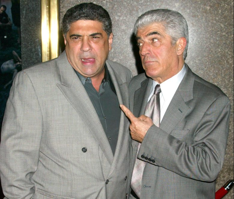 Vincent Pastore and Frank Vincent'THE SOPRANOS' FIFTH SEASON PREMIERE AT RADIO CITY MUSIC HALL, NEW YORK, AMERICA - 02 MAR 2004