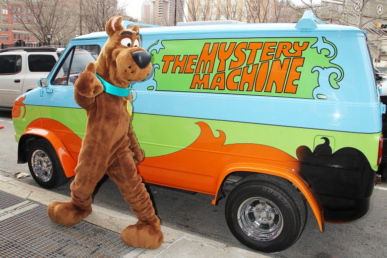 Scooby Doo with Mystery Machine 'Scooby Doo Wrestlemaina Mystery' VIP Screening, New York, America - 22 Mar 2014
