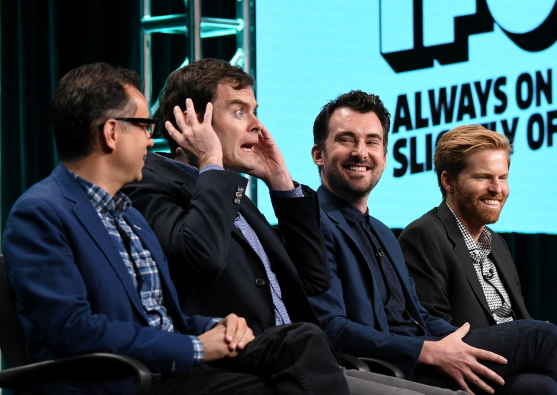 Fred Armisen, Bill Hader, Rhys Thomas and Alex BuonoIFC 'Documentary Now!' Panel at the TCA Summer Press Tour, Day 4, Los Angeles, USA - 31 Jul 2016