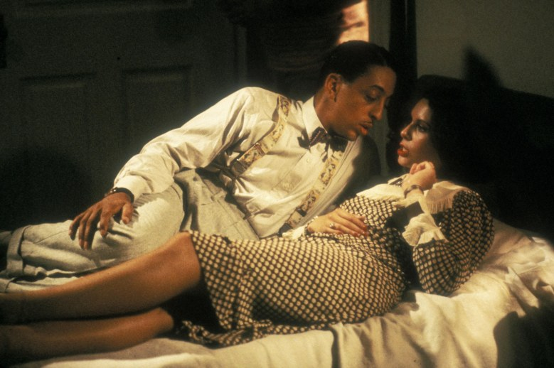 No Merchandising. Editorial Use Only. No Book Cover Usage.Mandatory Credit: Photo by Zoetrope/Orion/Kobal/REX/Shutterstock (5884480g) Gregory Hines, Lonette McKee The Cotton Club - 1984 Director: Francis Ford Coppola Zoetrope/Orion USA Scene Still Drama Cotton Club