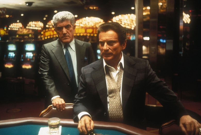 No Merchandising. Editorial Use Only. No Book Cover Usage.Mandatory Credit: Photo by Universal/Kobal/REX/Shutterstock (5885730al) Frank Vincent, Joe Pesci Casino - 1995 Director: Martin Scorsese Universal USA Scene Still