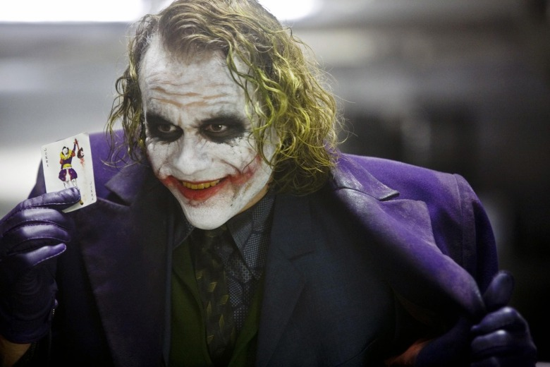 Heath Ledger The joker the dark knight