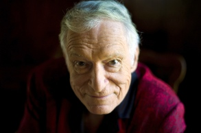 FILE - This Oct. 13, 2011 file photo shows American magazine publisher, founder and Chief Creative Officer of Playboy Enterprises, Hugh Hefner at his home at the Playboy Mansion in Beverly Hills, Calif. Hefner's attorneys are asking a judge to dismiss the Playboy founder from a lawsuit filed by a woman who accuses Bill Cosby of abusing her at the Playboy Mansion in 2008. A motion filed Tuesday, June 28, in a Los Angeles federal court contends that a lawsuit filed by former model Chloe Goins is barred by the statute of limitations, and she has not pleaded facts that would allow the case to proceed.Hugh Hefner, Beverly Hills, USA - 29 Jun 2016