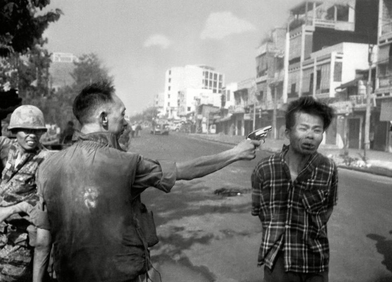 Nguyen Van Lem; Bay Lop EDS NOTE: GRAPHIC CONTENT ** South Vietnamese General Nguyen Ngoc Loan, chief of the National Police, fires his pistol into the head of suspected Viet Cong officer Nguyen Van Lem (also known as Bay Lop) on a Saigon street, early in the Tet OffensiveVietnam War Saigon Execution, Saigon, Vietnam