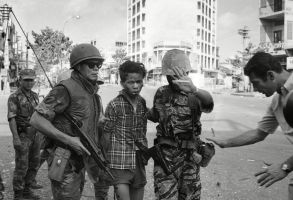 Nguyen Van Lem; Bay Lop South Vietnamese forces escort suspected Viet Cong officer Nguyen Van Lem (also known as Bay Lop) on a Saigon street, early in the Tet Offensive. Moments later, Lem was executed by Gen. Nguyen Ngoc Loan, chief of the national policeVietnam War Saigon Execution, Saigon, Vietnam