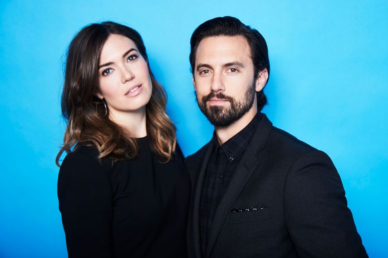Mandy Moore and Milo VentimigliaThe Contenders Emmys, presented by Deadline, Photo Studio, Los Angeles, USA - 09 Apr 2017