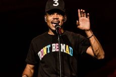 Chance The RapperDave Chappelle in concert, Radio City Music Hall, New York, USA - 17 Aug 2017