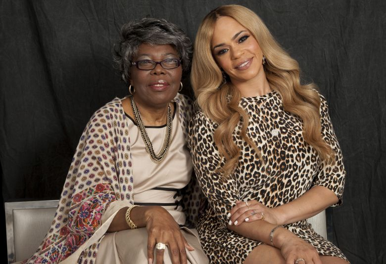 """Voletta Wallace, Faith Evans Voletta Wallace, left, and Faith Evans, right, pose for a portrait in New York. Wallace details the love for the Notorious B.I.G. as both his mother and No. 1 fan in the new, three-hour documentary, """"Biggie: The Life of Notorious B.I.G."""" It debuts Monday, Sept. 4 at 8 p.m. EST on A&EVoletta Wallace and Faith Evans Portrait Session, New York, USA - 17 Aug 2017"""