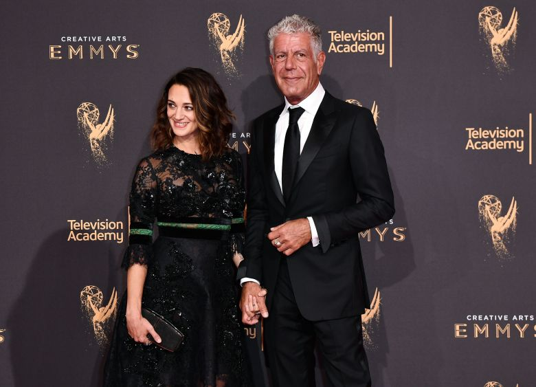 Asia Argento and Anthony BourdainCreative Arts Emmy Awards, Arrivals, Los Angeles, USA - 09 Sep 2017