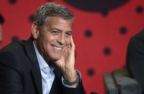 """George Clooney attends a press conference for """"Suburbicon"""" on day 4 of the Toronto International Film Festival at the TIFF Bell Lightbox, in Toronto2017 TIFF - """"Suburbicon"""" Press Conference, Toronto, Canada - 10 Sep 2017"""