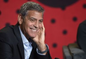 "George Clooney attends a press conference for ""Suburbicon"" on day 4 of the Toronto International Film Festival at the TIFF Bell Lightbox, in Toronto2017 TIFF - ""Suburbicon"" Press Conference, Toronto, Canada - 10 Sep 2017"