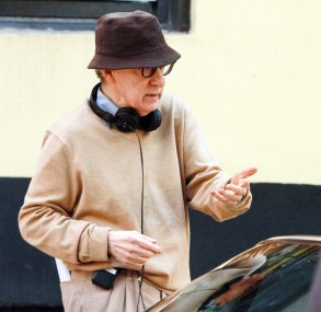 Woody Allen'Untitled Woody Allen Project' on set filming, New York, USA - 11 Sep 2017
