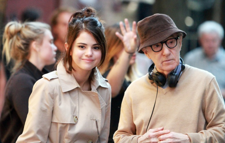 Selena Gomez, Woody Allen 'Untitled Woody Allen Project' on set filming, New York, USA - 11 Sep 2017