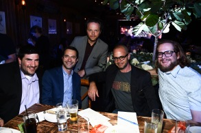 Adam Horowitz, Edward Kitsis, Noah Hawley, Damon Lindelof and Bryan FullerVariety and Indiewire Showrunners Dinner, Los Angeles, USA - 13 Sep 2017