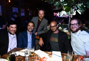 Adam Horowitz, Edward Kitsis, Noah Hawley, Damon Lindelof and Bryan FullerVariety and Indiewire Showrunners Dinner, Los Angeles, USA - 13 Sep 2017