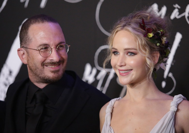 Darren Aronofsky and Jennifer Lawrence'Mother!' film premiere, New York, USA - 13 Sep 2017