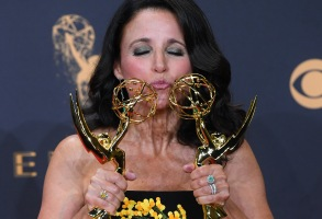 Julia Louis-Dreyfus- Outstanding Actress in a Comedy Series - Veep69th Primetime Emmy Awards, Press Room, Los Angeles, USA - 17 Sep 2017