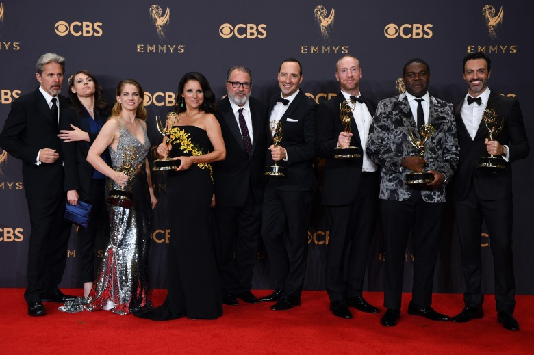Veep cast - Outstanding Comedy Series69th Primetime Emmy Awards, Press Room, Los Angeles, USA - 17 Sep 2017