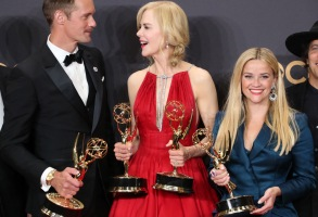 Alexander Skarsgard, Nicole Kidman and Reese Witherspoon - Outstanding Actress in a Limited Series - Big Little Lies69th Primetime Emmy Awards, Press Room, Los Angeles, USA - 17 Sep 2017