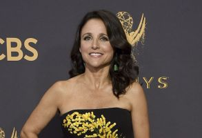 Julia Louis-Dreyfus arrives at the 69th Primetime Emmy Awards, at the Microsoft Theater in Los AngelesAPTOPIX 2017 Primetime Emmy Awards - Arrivals, Los Angeles, USA - 17 Sep 2017