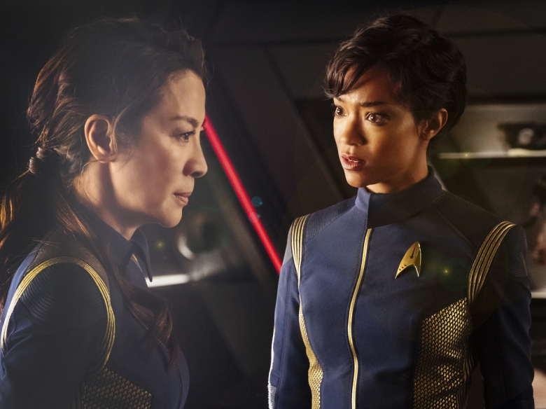 "Michelle Yeoh and Sonequa Martin-Green, ""Star Trek: Discovery"""