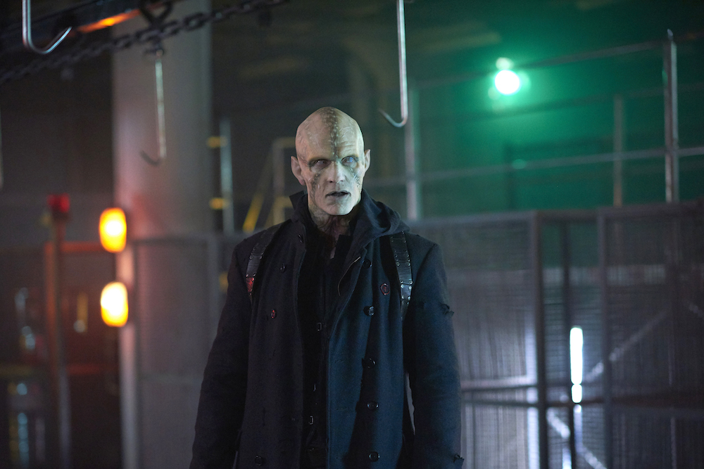 "THE STRAIN -- ""Extraction"" - Season 4, Episode 8 (Airs September 3, 10:00 pm e/p) Pictured: Rupert Penry-Jones as Quinlan. CR: Russ Martin/FX"