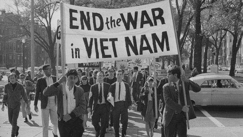 The Vietnam War Ken Burns PBS Protestors