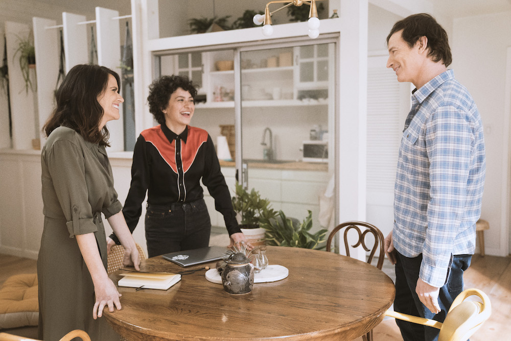 Transparent Season 4 Amy Landecker, Alia Shawkat, Rob Huebel