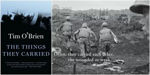 """""""The Things They Carried,"""" a book by Tim O'Brien, who was featured in """"The Vietnam War"""""""