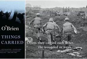 """The Things They Carried,"" a book by Tim O'Brien, who was featured in ""The Vietnam War"""