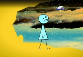 "Don Hertzfeldt ""World of Tomorrow Episode II: The Burden of Other People's Thoughts"""