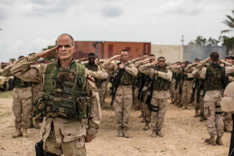 the long road home review nat geo iraq war miniseries is
