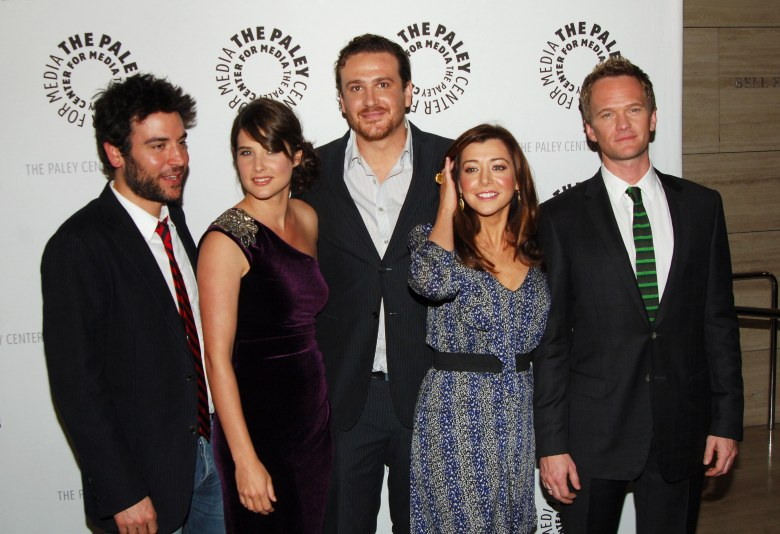Josh Radnor, Cobie Smulders, Jason Segel, Alyson Hannigan & Neil Patrick Harris'How I Met Your Mother' 100 Episode Celebration, Los Angeles, America - 07 Jan 2010