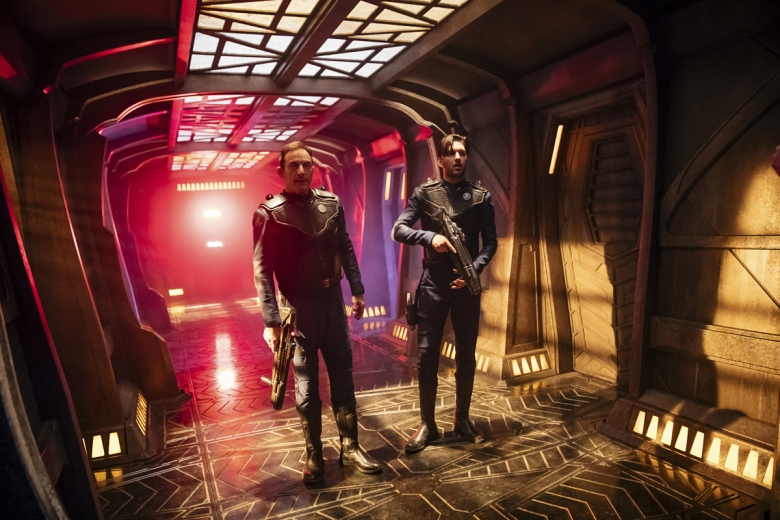 "Jason Isaacs and Shazad Latif, ""Star Trek: Discovery"""