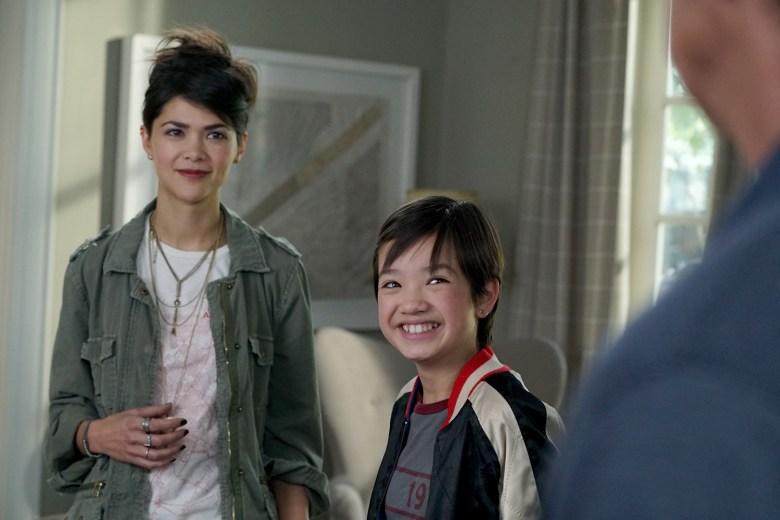"Lilan Bowden and Peyton Elizabeth Lee, ""Andi Mack"""