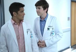 "Nicholas Gonzalez and Freddie Highmore, ""The Good Doctor"""